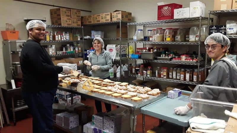 Dioceses scramble to meet the need to feed the poor at their door
