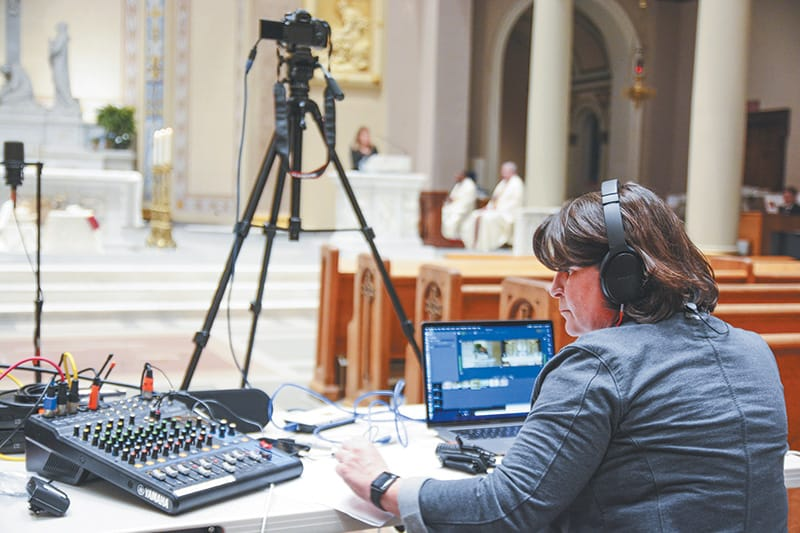 Diocese brings Holy Week to people electronically