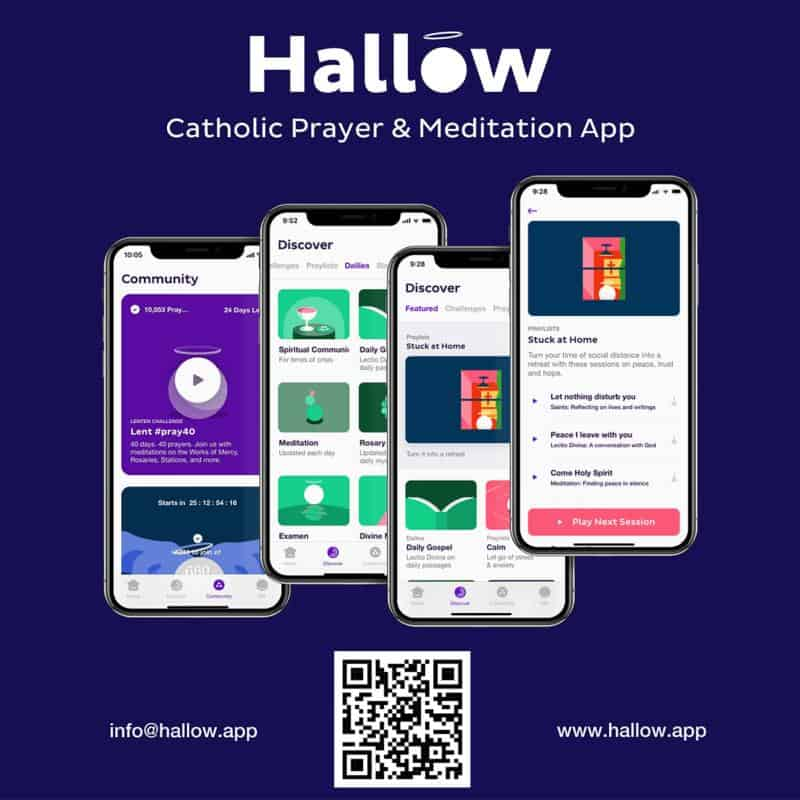 Update: Successful Catholic app adds features to help people cope in pandemic