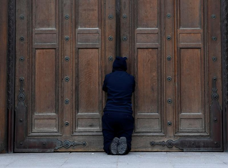 Britain says churches can't open until July; bishops not happy