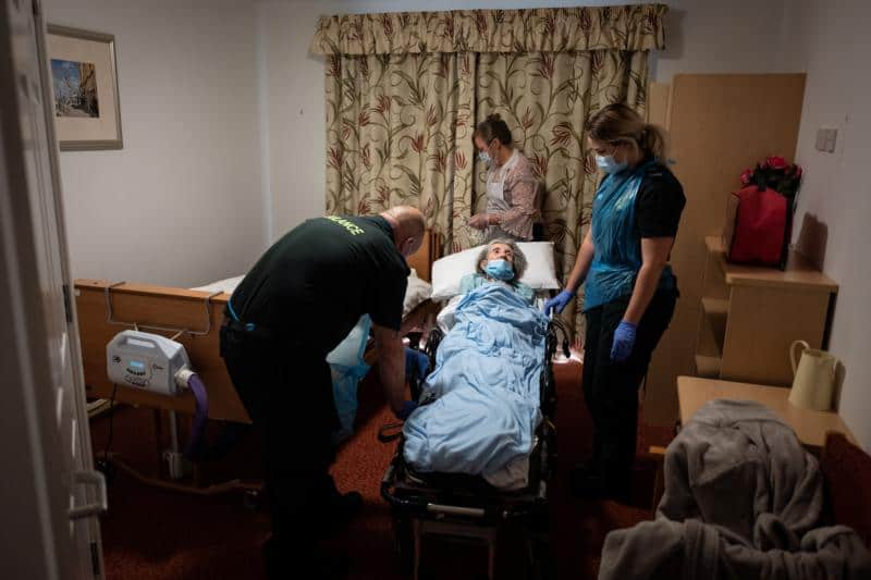 Read more about the article Bioethics center: U.K. elderly death rate greatest failure of pandemic