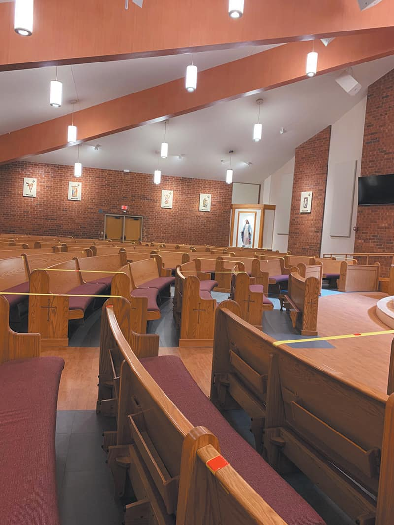 Diocese provides parishes with guidelines to resume public Masses