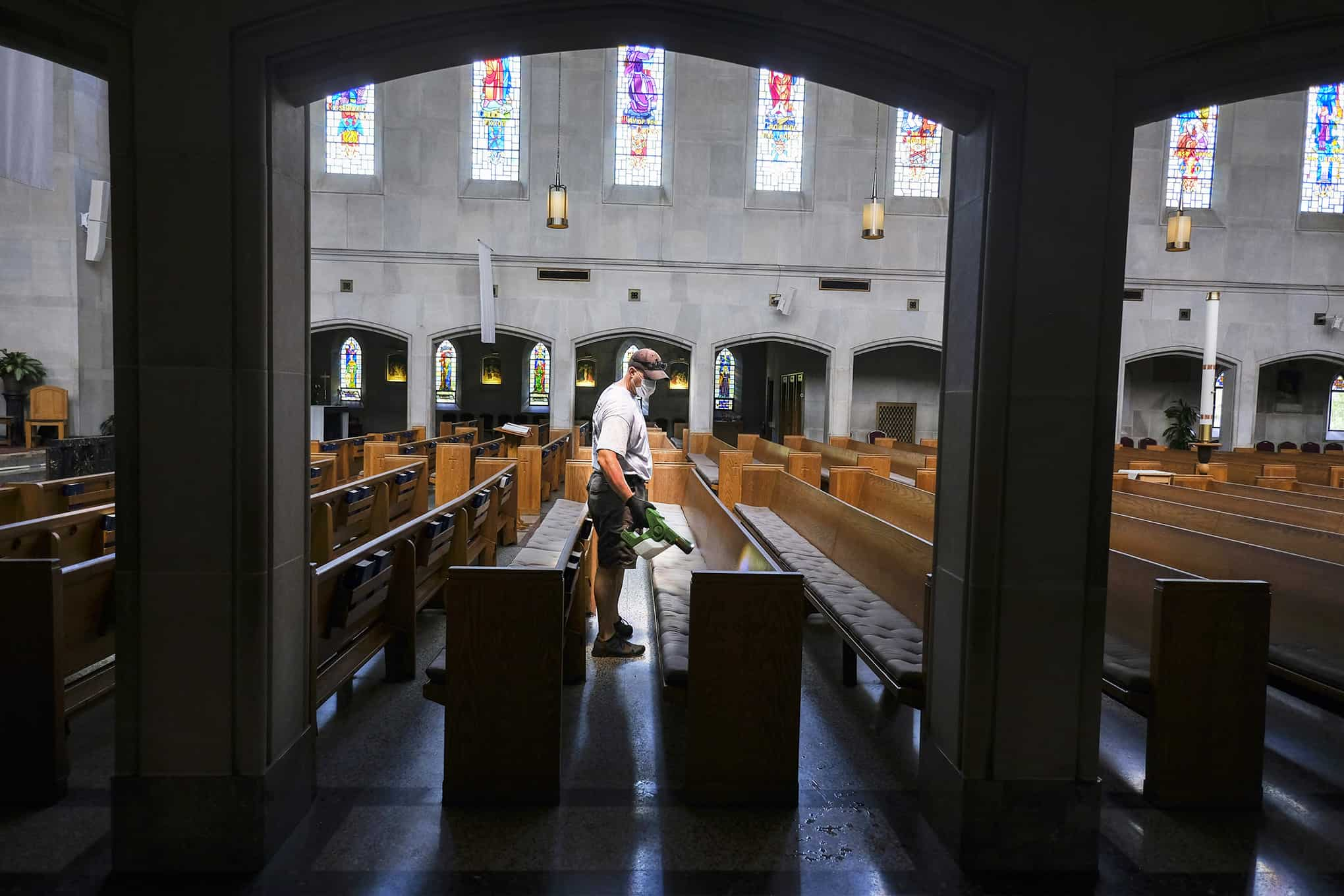 Parishes prepare to welcome the faithful back to Mass