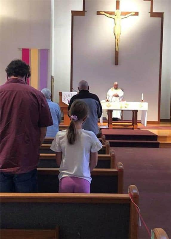 First chance to receive Eucharist at Mass in months leaves some in tears