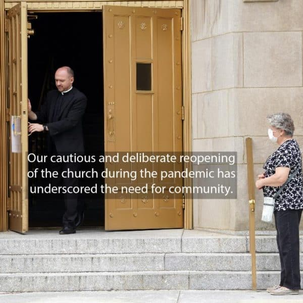 Faith Alive, No. 28, Part 2: Church reopenings during pandemic underscore the need for community