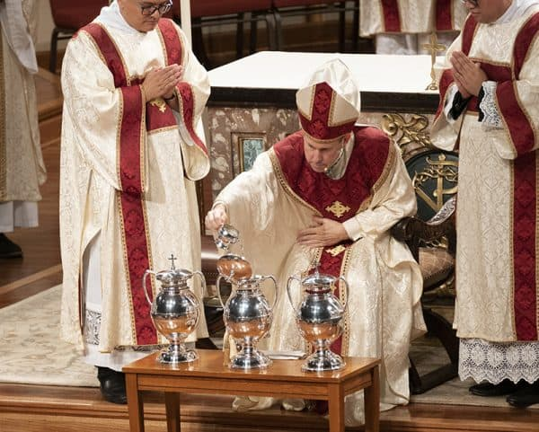 Invite-only Chrism Mass rescheduled for June 16