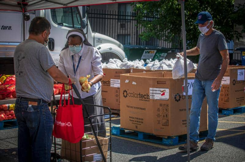 Read more about the article D.C. Catholic food pantry: Months of long lines with no end in sight