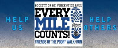 Friends of the Poor Walk/Run set for Sept. 12