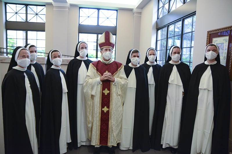 Eight Dominican Sisters make final profession