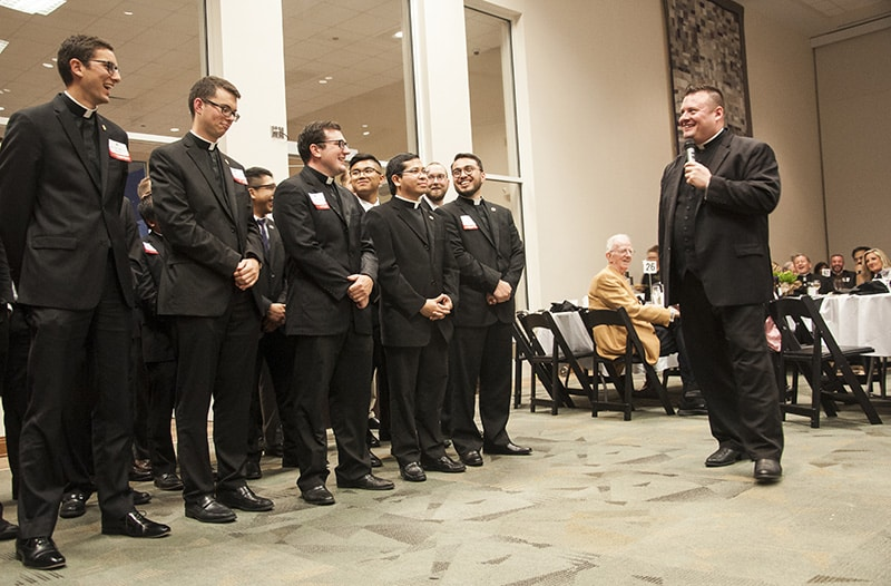Dinner with bishop, Vrabels highlight auction for Seminarian Education