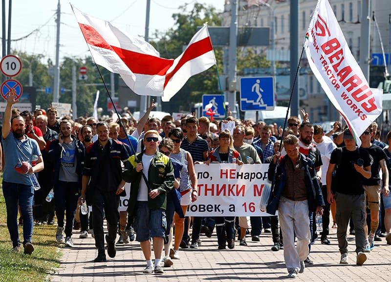 Beating peaceful demonstrators is 'grave sin,' says Belarusian archbishop