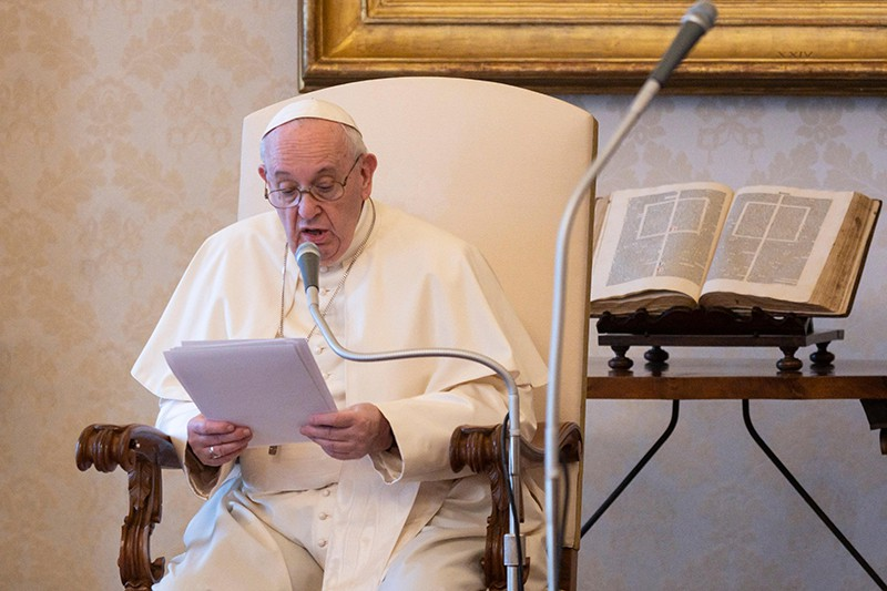 Making the poor a priority isn't political, it's the Gospel, pope says