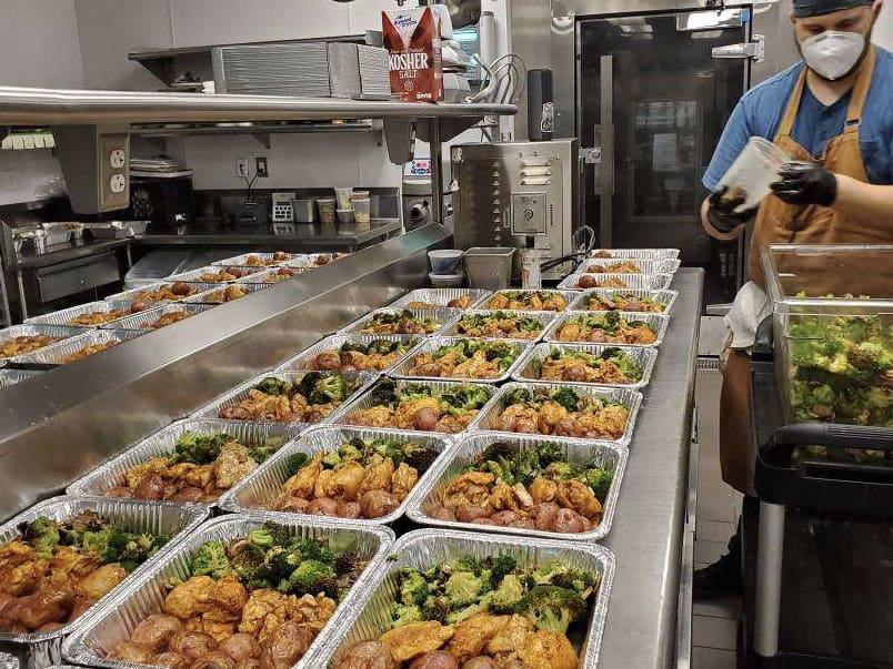Meals program feeds hungry, employs workers