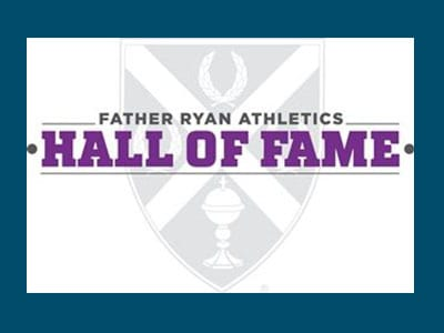 Father Ryan announces new inductees to Hall of Fame