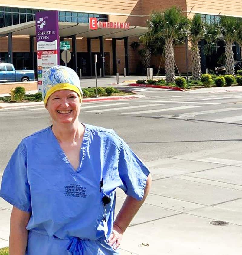 Nashville doctor serving on COVID front lines in Texas
