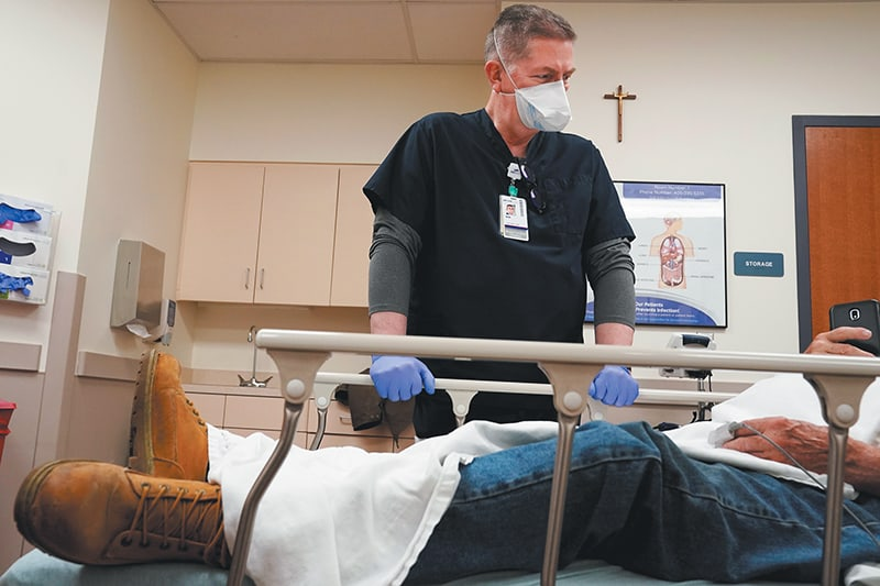 'It's a new world' for priests, ministers caring for sick and dying