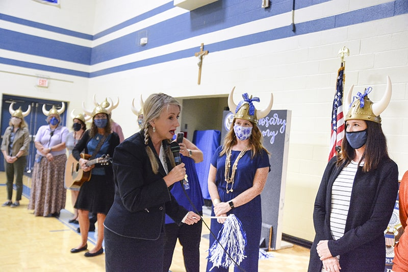 Holy Rosary named Blue Ribbon School for second time