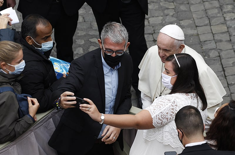Post-pandemic world must not return to selfish 'normality,' pope says