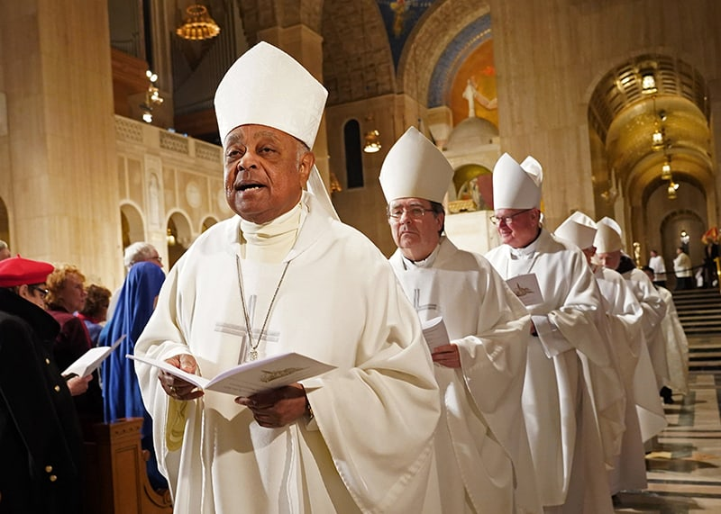 An outpouring of support for first African American cardinal-designate for U.S.