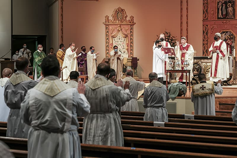 Priesthood Sunday collection gifts to aid vocations starting to roll in