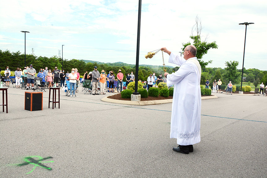 Parishes continue to safely welcome the faithful to Mass