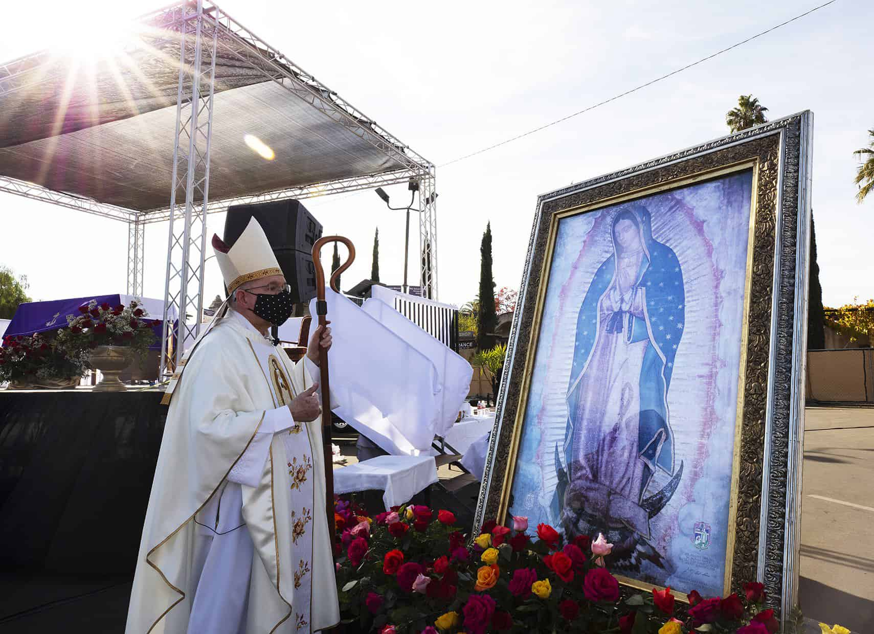 Virus halts Guadalupe processions, but not other ways to safely celebrate feast
