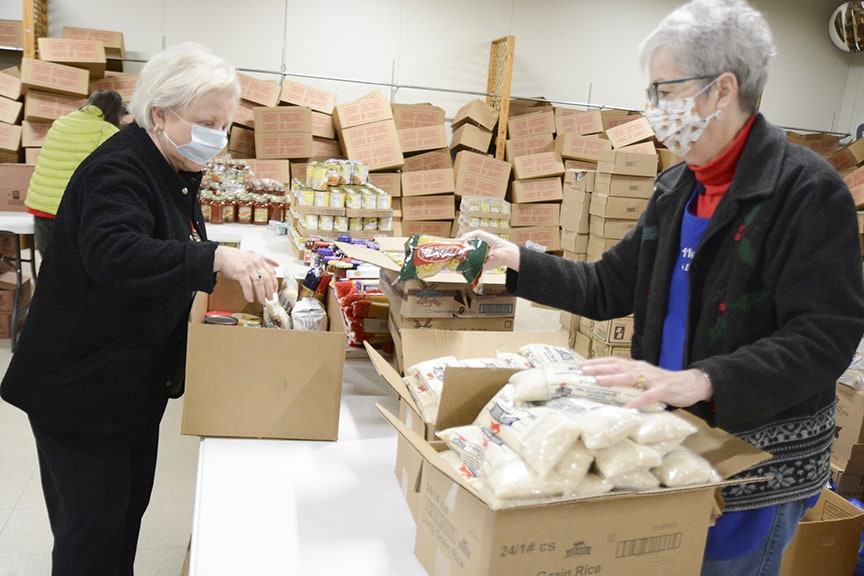 Ladies of Charity programs ease hunger in the community