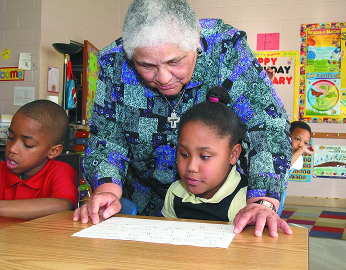 At age 94, Sister Sandra remains committed to transforming education