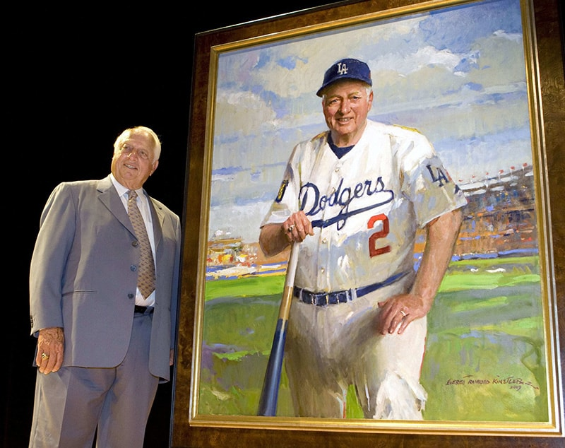 Tommy Lasorda, Hall of Fame manager, was benefactor of Nashville Mercy Sisters