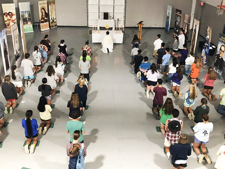 Diocese's high school youth ministry program keeps the faith in uncertain times