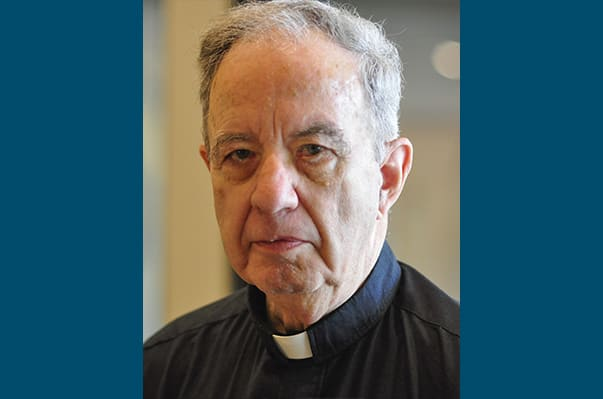 Father Gaffny, St. Francis of Assisi administrator, retires