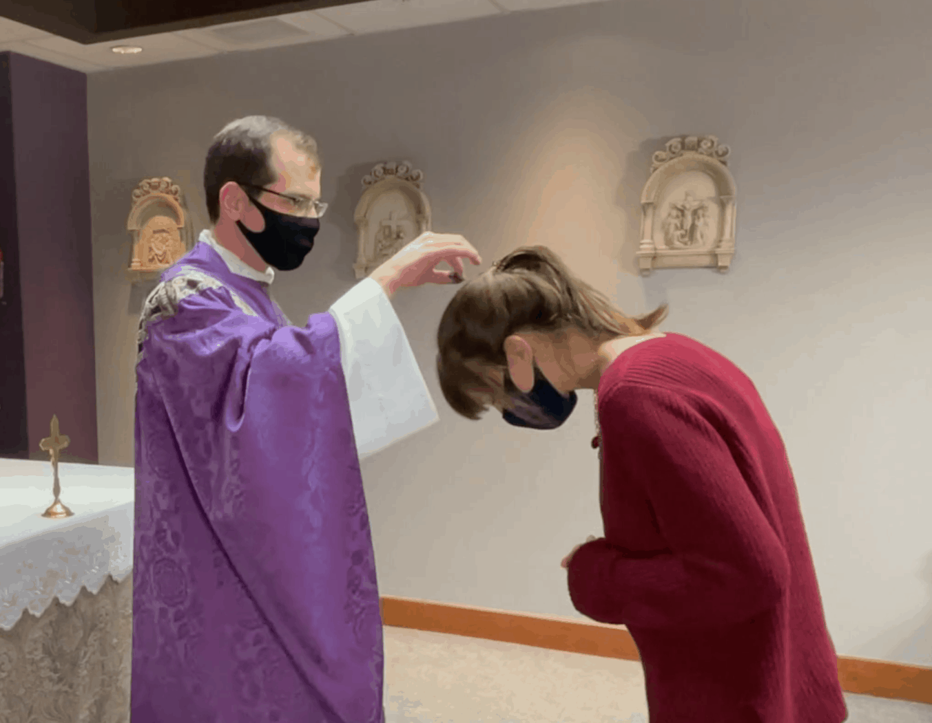 Ash Wednesday: Different look, same message
