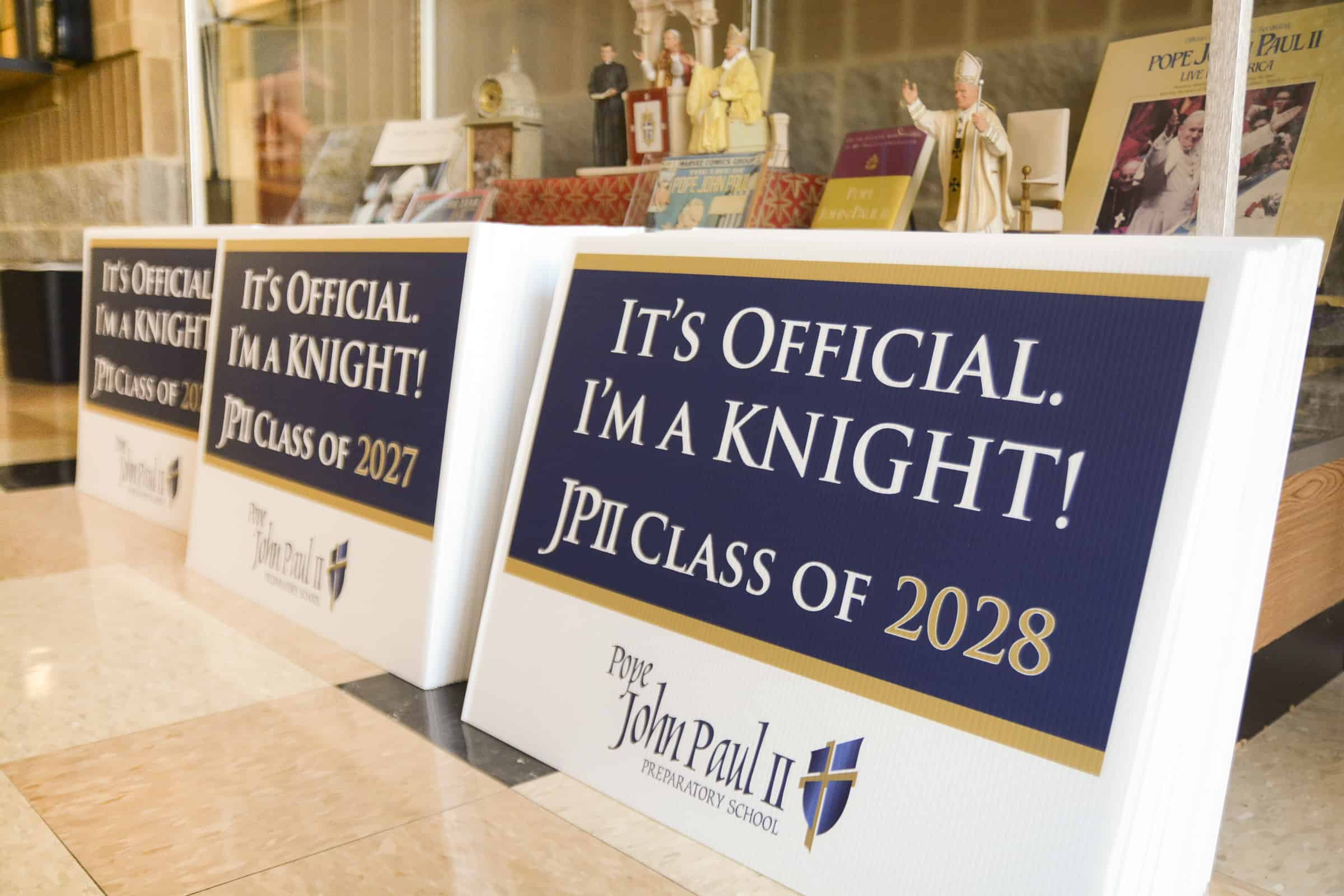 JPII quickly receives enough applications to fill middle school