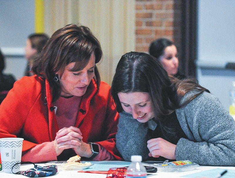 Mothers, daughters share the day and their faith at retreat