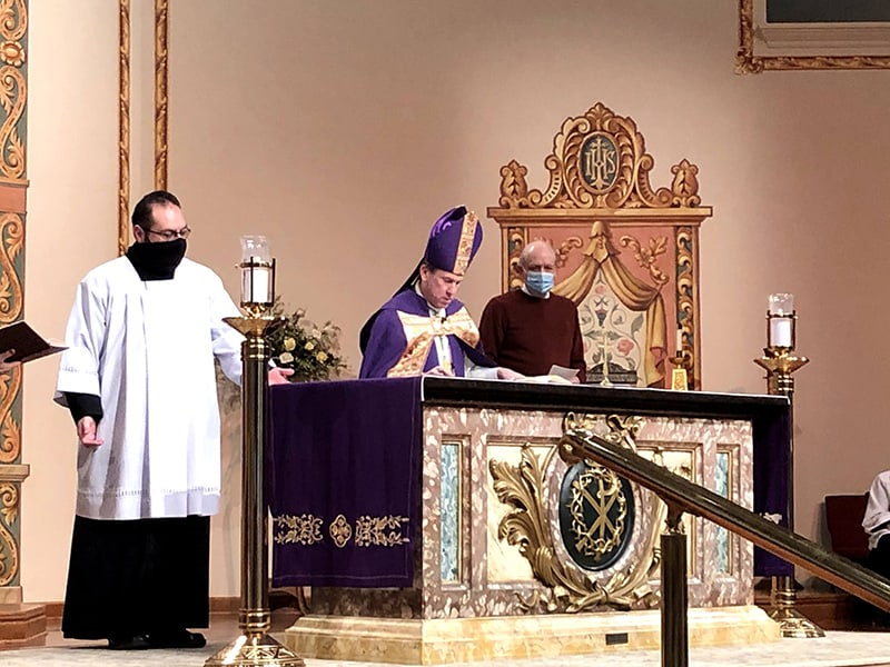 Diocese celebrates Rite of Election for people to be baptized at Easter Vigil Mass