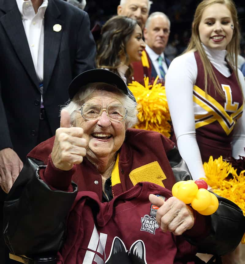 Sister Jean, Loyola Chicago's biggest fan, returns to March Madness