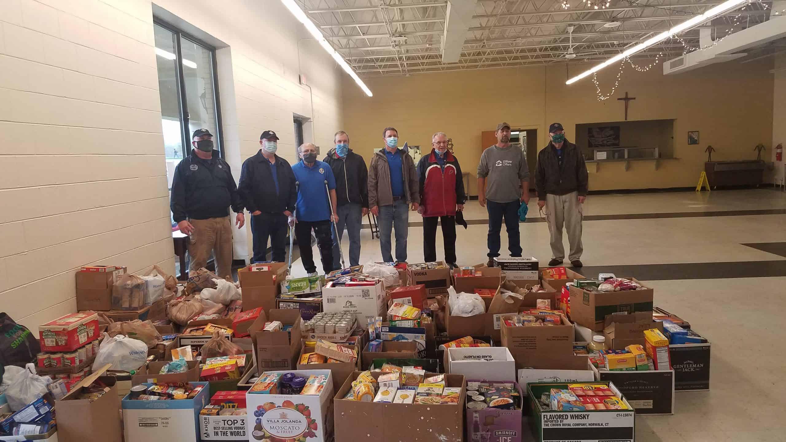 Murfreesboro Knights, St. Rose parishioners help Catholic Charities