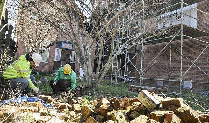 Restoration continues on historic Assumption Church