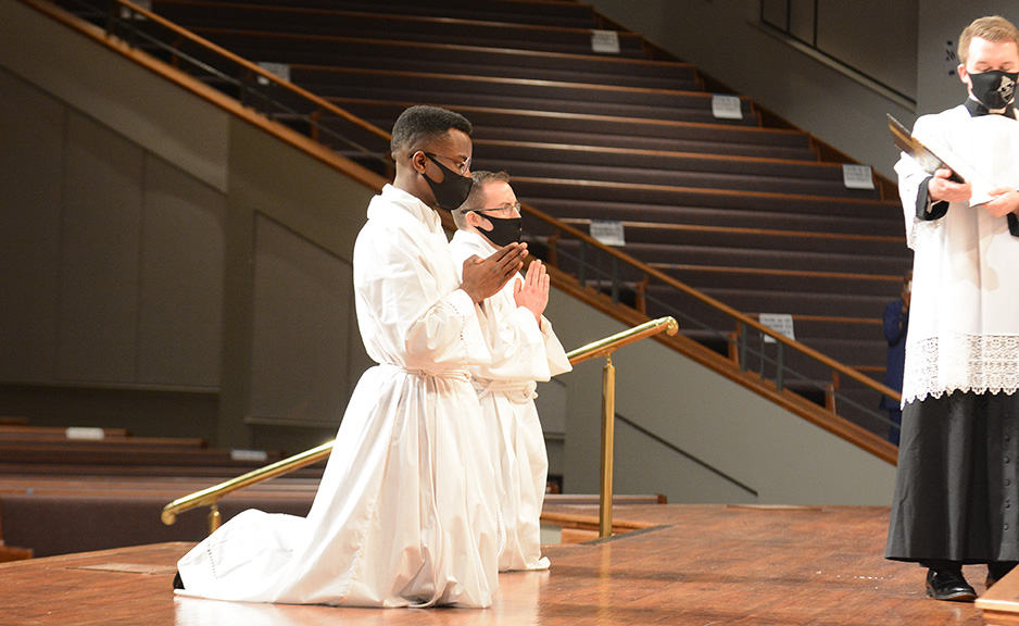 New transitional deacons urged to use gifts to serve others