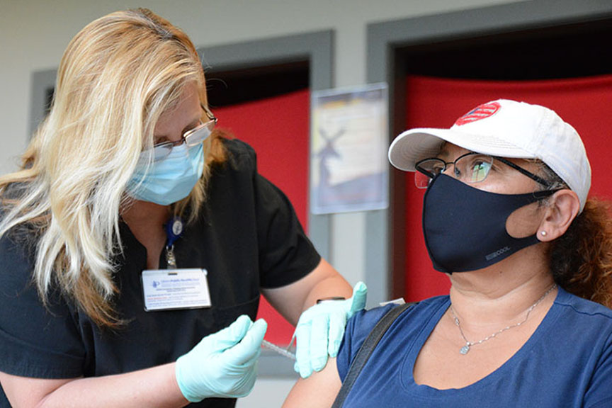 Read more about the article Churches serving community as sites for COVID-19 vaccines