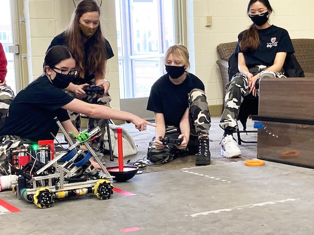 St. Cecilia robotics program builds robots and community