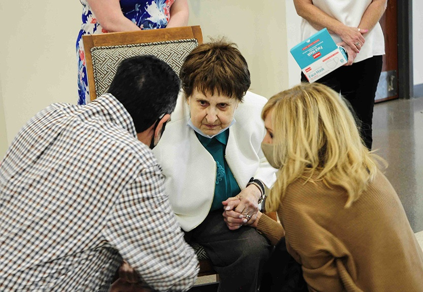 Read more about the article As she retires, Sister Maria leaves legacy of compassion at Our Lady of the Lake