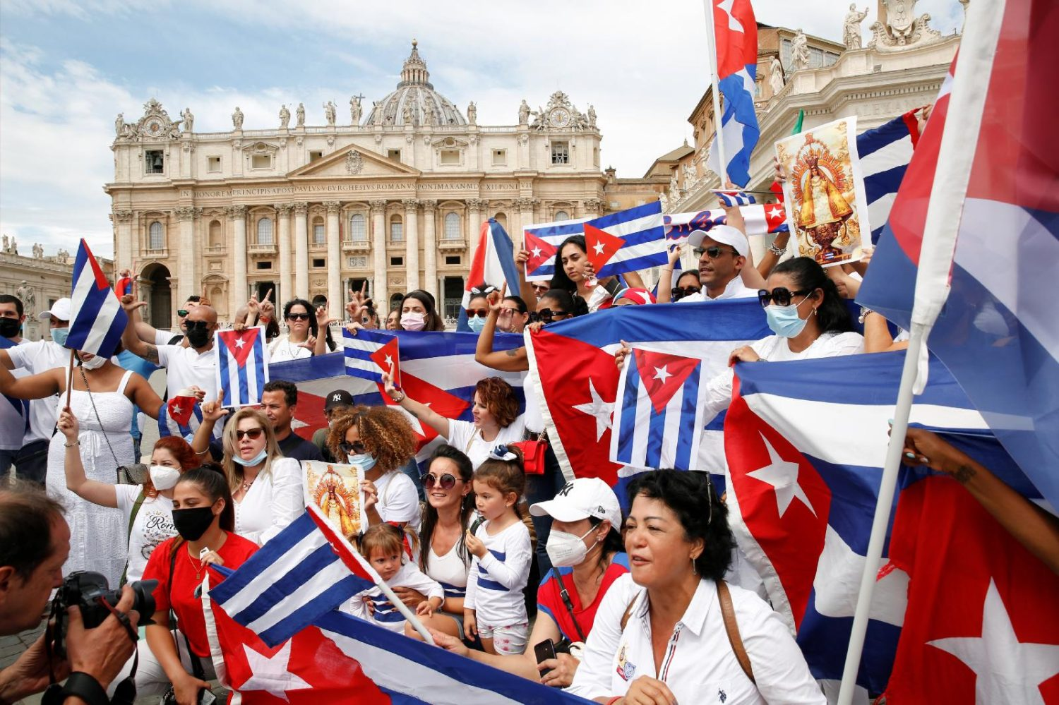Read more about the article Pope expresses closeness with Cuban people as unrest continues