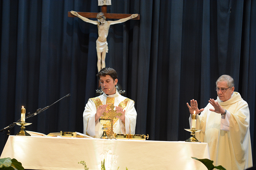 Read more about the article New parish comes to life with first Mass [Photo Album]