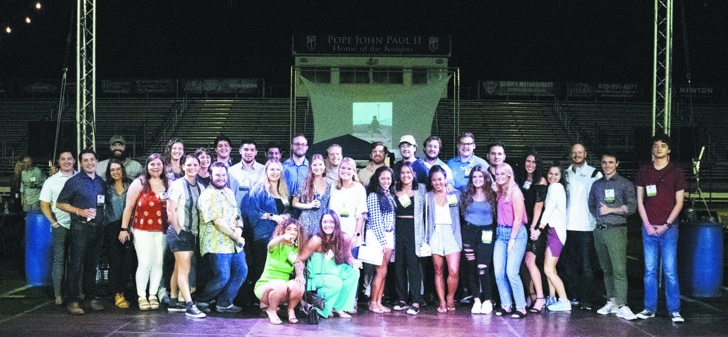 Read more about the article In its 20th year, Pope Prep still building 'city on a hill'