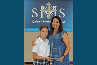 Read more about the article St. Matthew educator honored by Mensa Foundation