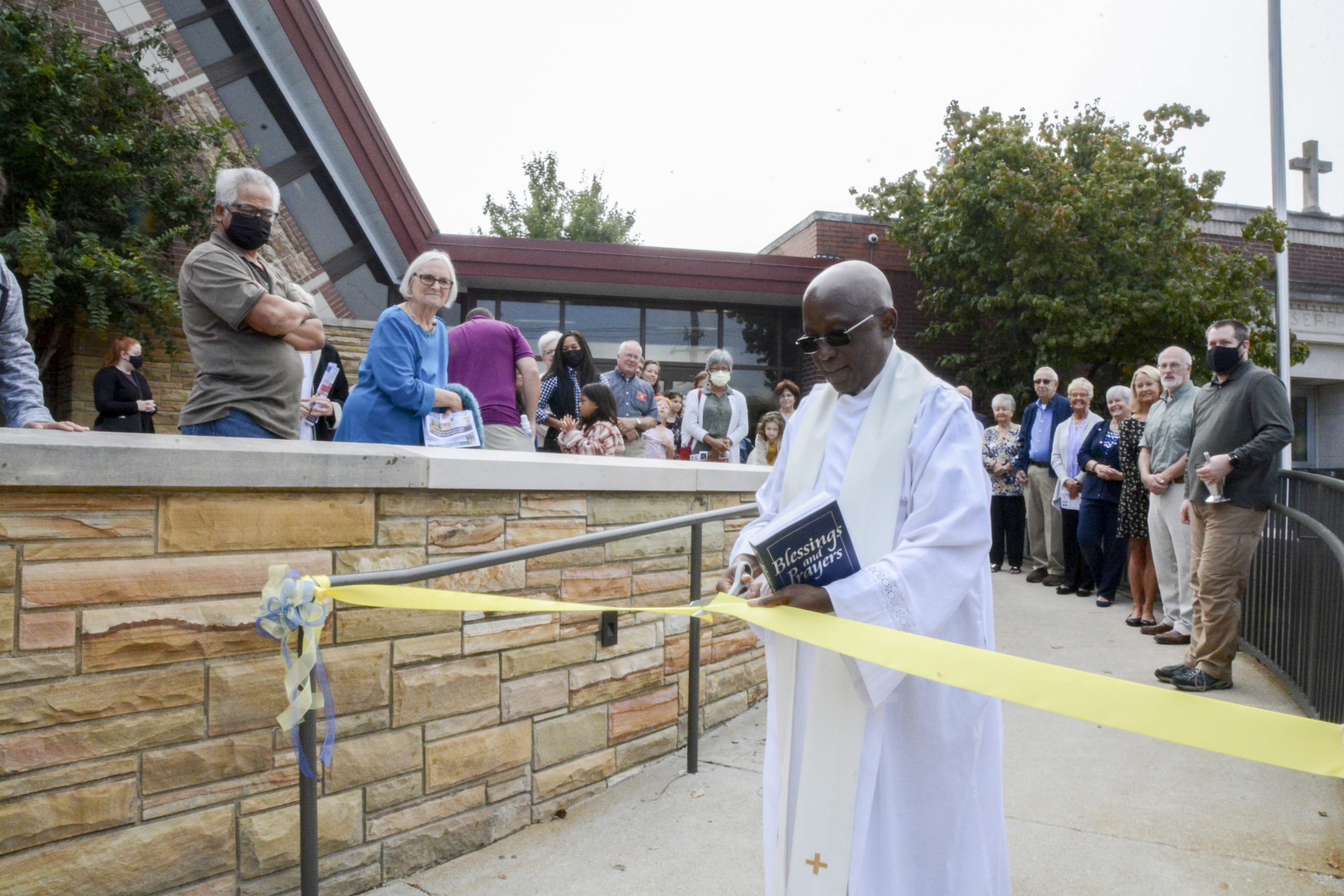Read more about the article St. Joseph adds new accessibility ramp at the church